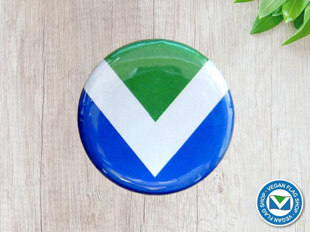 Vegan Flag BADGE (30×30)