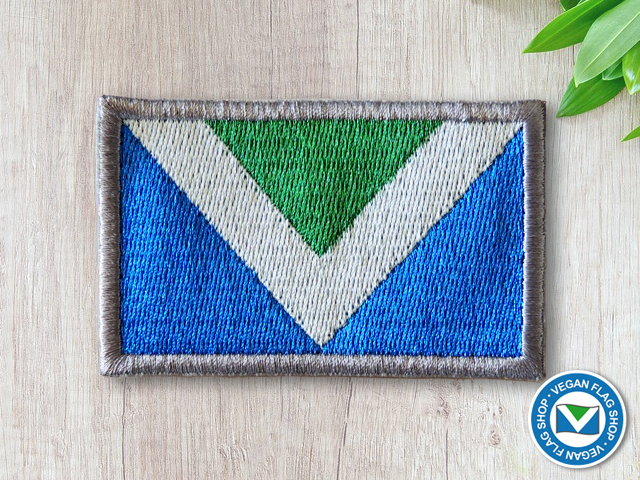 Vegan Flag PATCH (45×75)