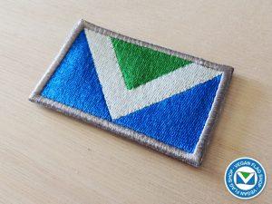 Vegan Flag PATCH (45×75)